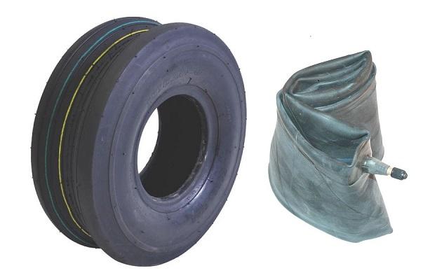 Tyre + tube 16x6,50-8 4PR T-510