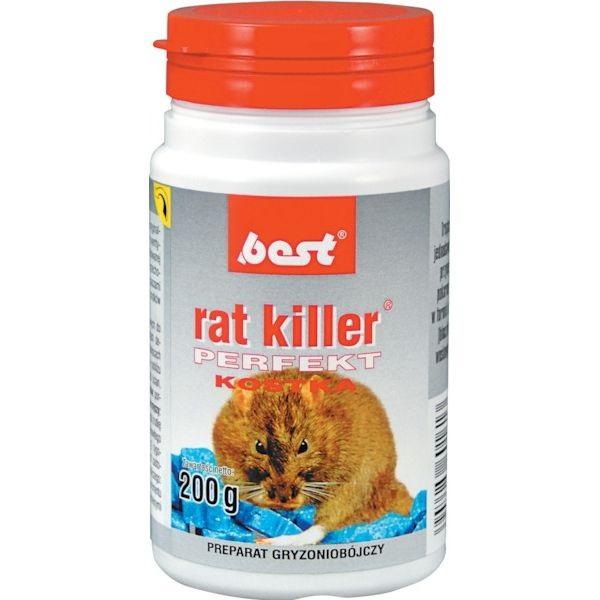 Rat poison 200g briquettes BEST