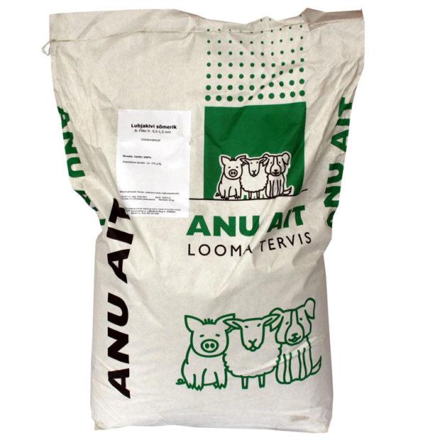 Минеральный корм для птиц CaCO3 25 kg