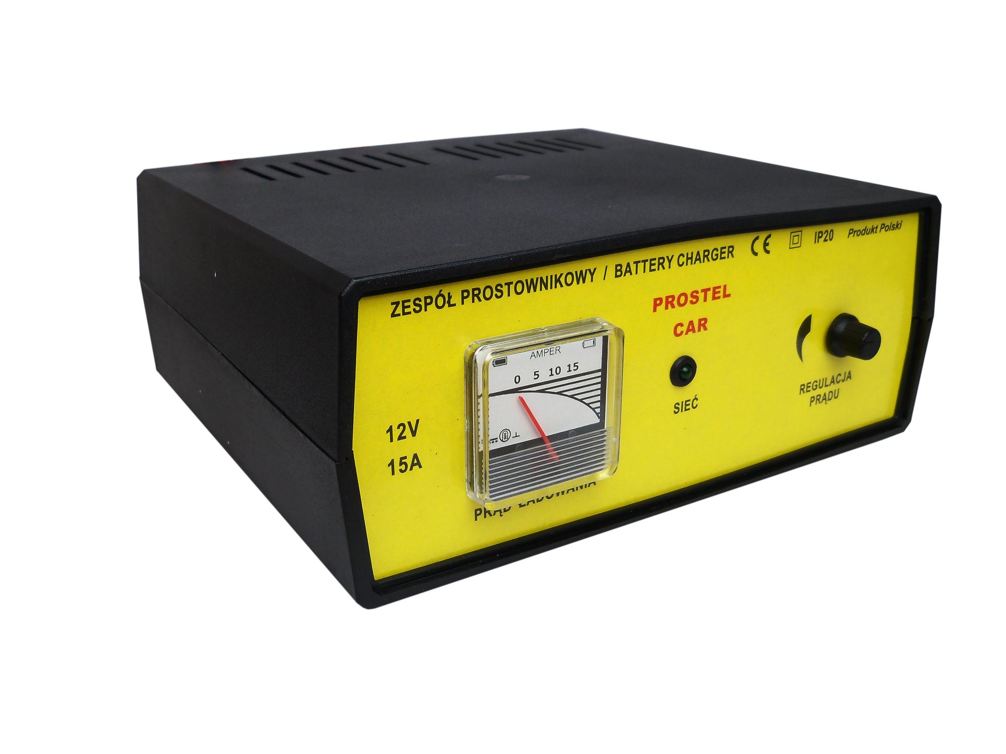 Akumulatora lādētājs 12V 15A