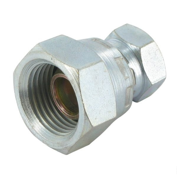 "Connector w. nuts 1/2"" - 1/4"""