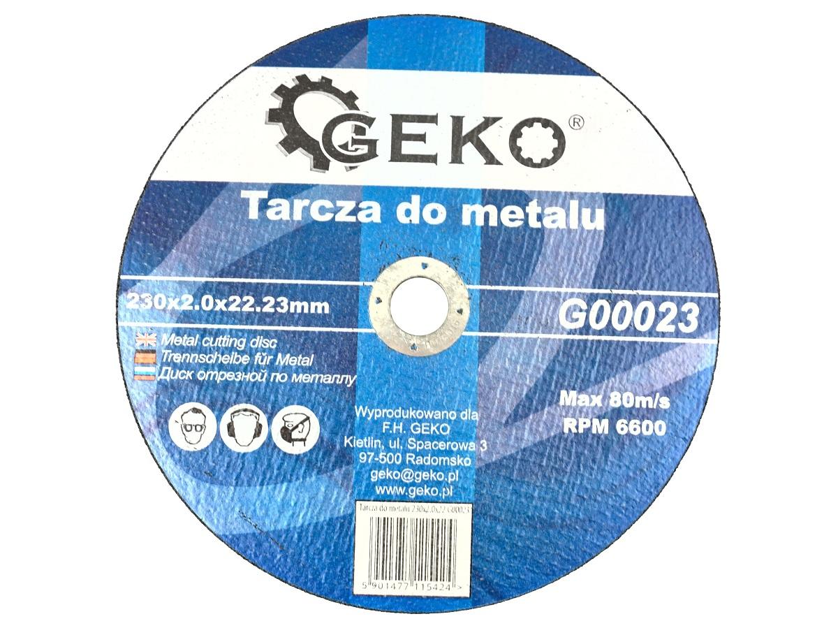 Lõikeketas 230x2,0x22 metall GEKO