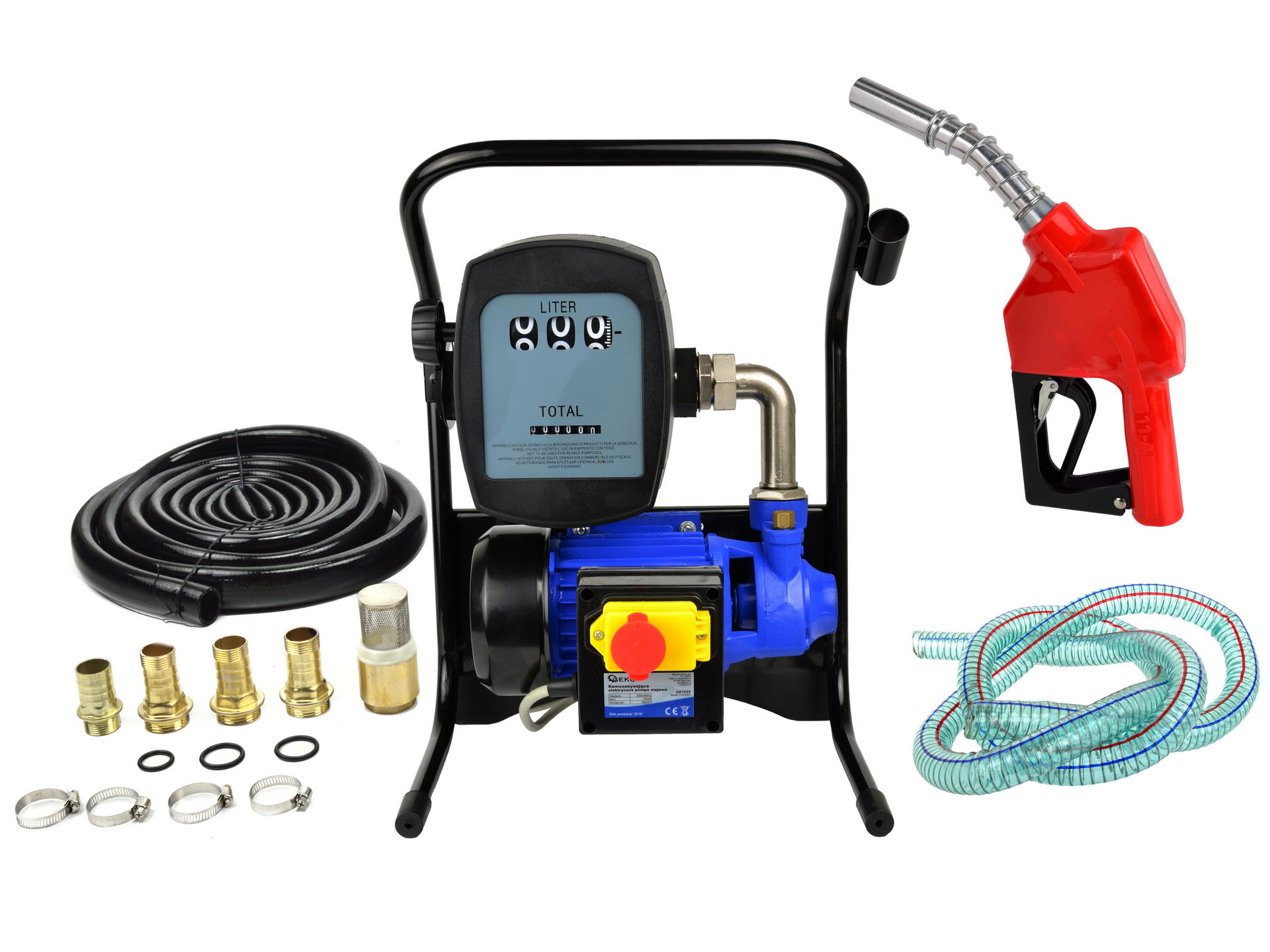 Fuel pump+gun‎+measuring unit 230V 600W 40/min