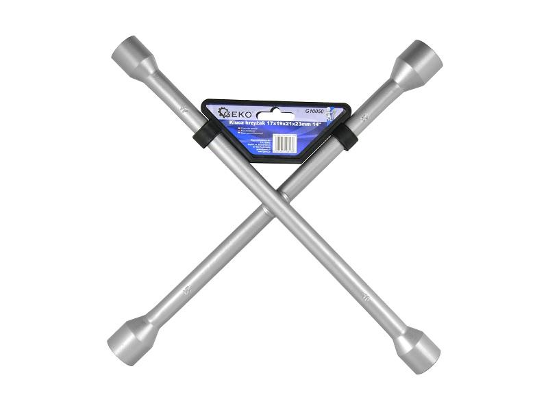 Крестовой гаечный ключ 17-19-21-22