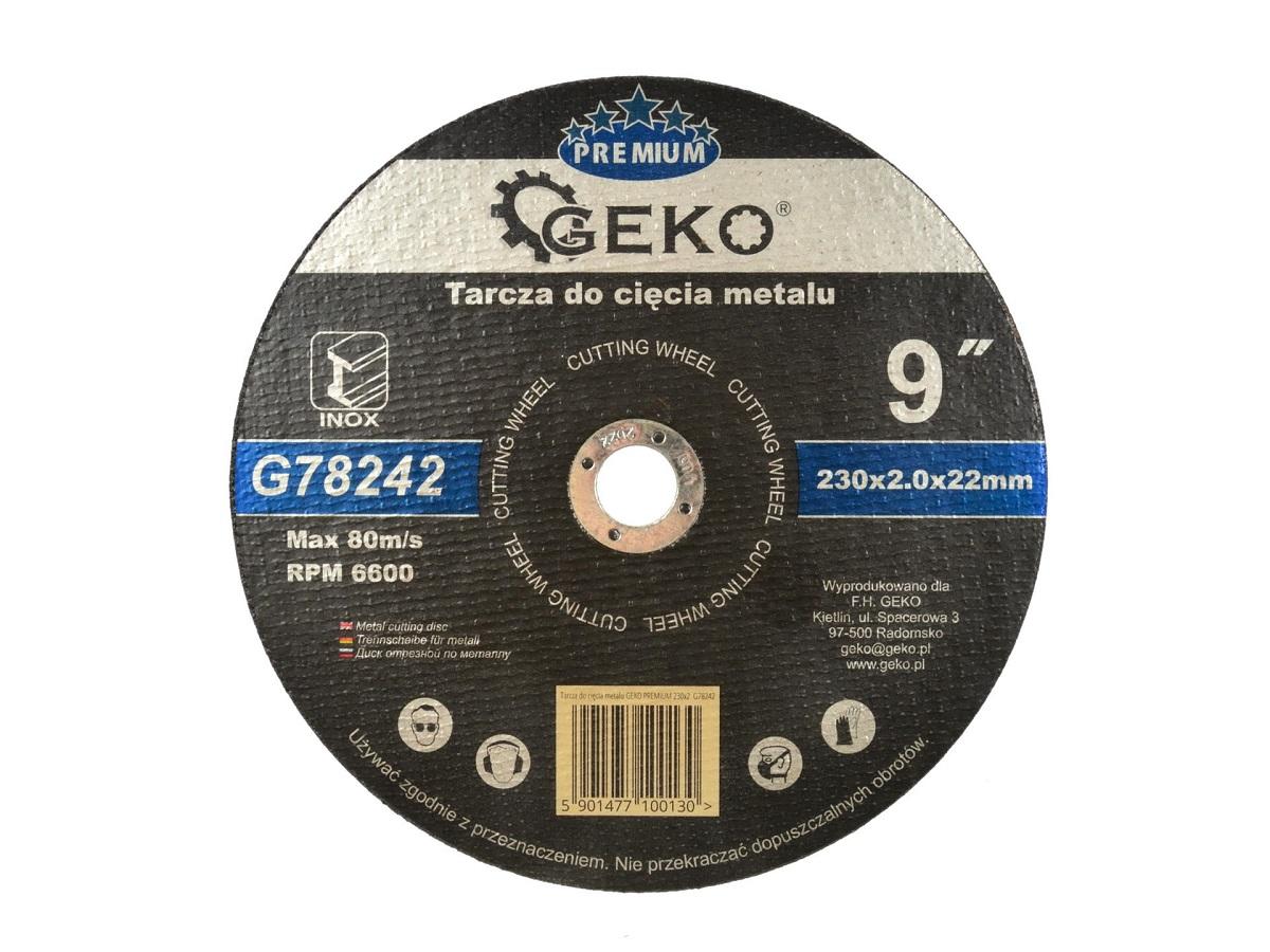 Lõikeketas 230x2,0x22 INOX GEKO