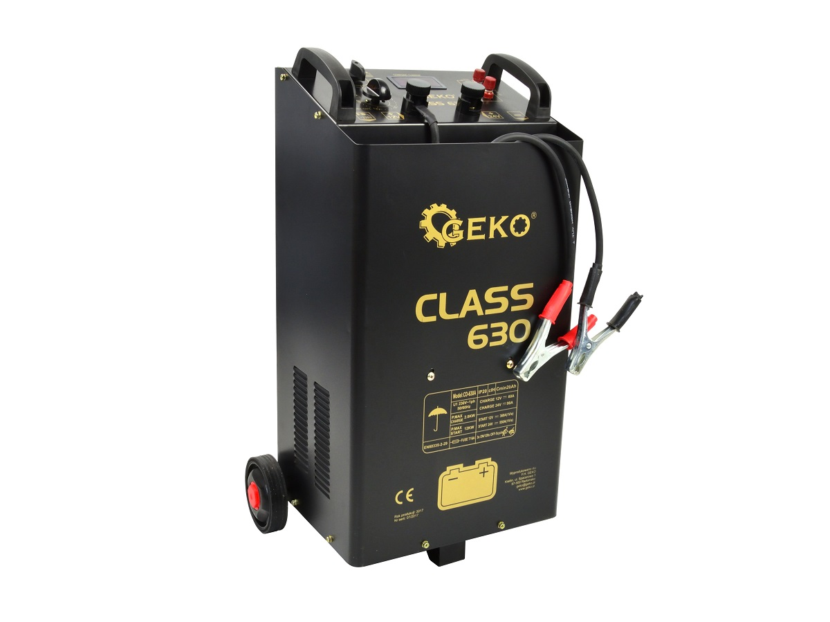 Battery Charger-Booster 12/24V 600A GEKO