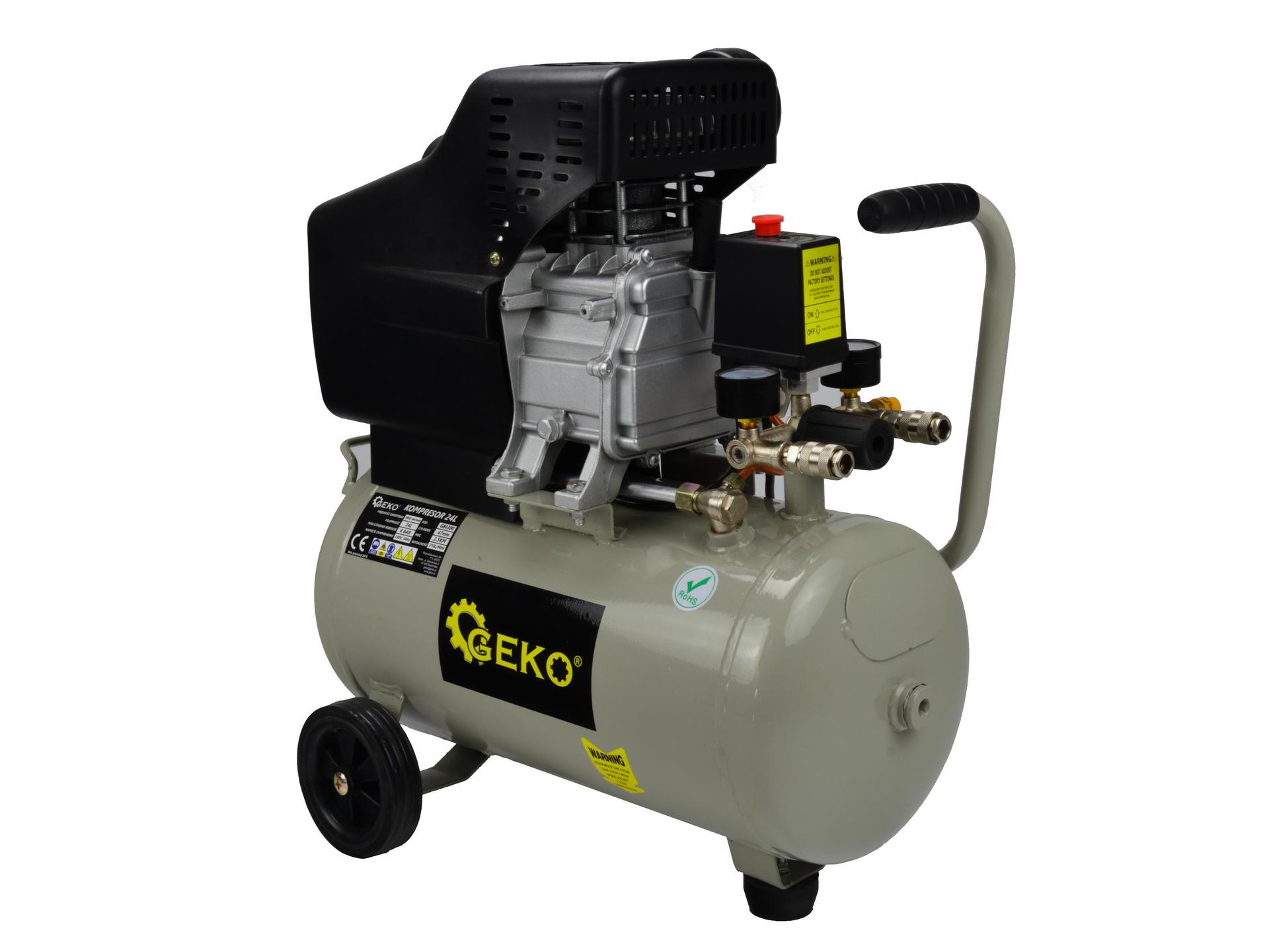 Gaisa kompresors 230V / 1,5kW 210l/min 50L GEKO