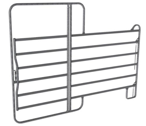 Fence panel with a gate 2,4x2,2m