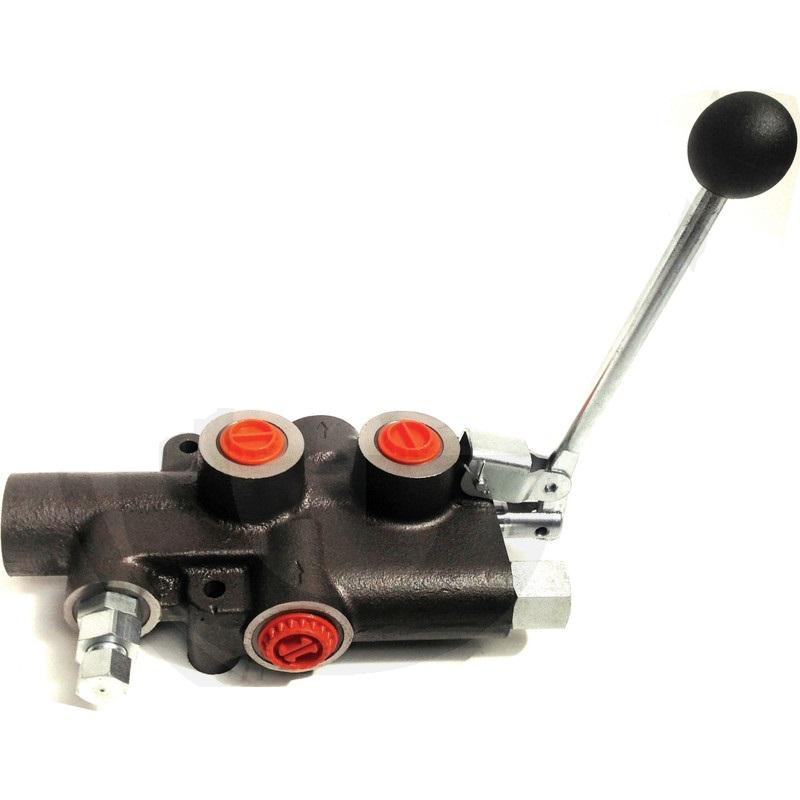 Puunhalkaisukonen käsiohjausventtiili P81/1 A2 G 80L/min