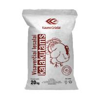 Kalkunite täissööt 0-5n. 20kg KAUNO GRUDAI