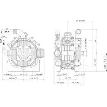 Kolb-membraanpump Poly 2180-VS Bertolini