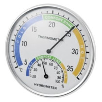 Termomeeter-hügromeeter siseruumidesse +5°C < +35°C