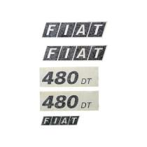 "Kleebised ""FIAT 480 DT"""