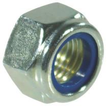 Lukumutter M10x1,5-10 10,9 DIN985 Zn