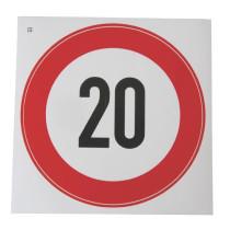 Kiirusepiirangu tähis Ø200mm 25km/h M/V
