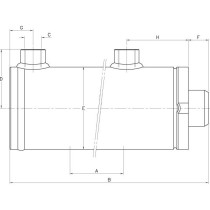 Hüdrosilinder D/AD25-40-200 SATURN