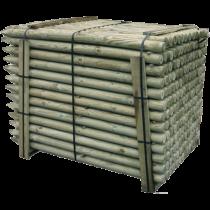 Immutatud puitpost L-1500mm Ø60mm HC4