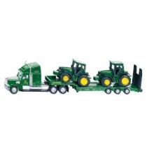 Autotreiler + 2 traktorit 1:87 SIKU