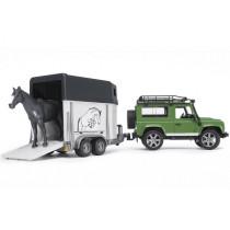 Land Rover+ hobuveok+ hobune BRUDER 1:16