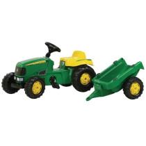 Traktor JOHN DEERE käruga