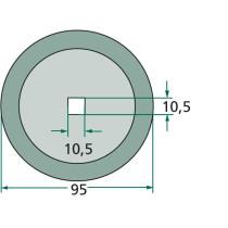 Tera #5mm 95mm Ø10,5 16800020 Frasto