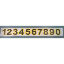 "Kleebis MTZ ""1234567890"""