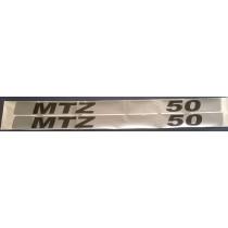 """Kleebised """"MTZ 50"""""""