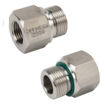 "Adapter 1/4"" - 3/8"" L-36mm"