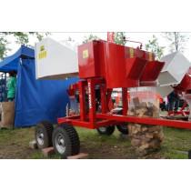 Oksatükeldaja SMV70 bensiinimootoriga+ATV haagis URBAN