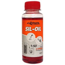 2.stroke motor, oil 0,1L red AXENOL