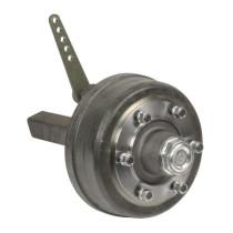 Axel w. brakes #70 L400 6xM18x1,5 ADR