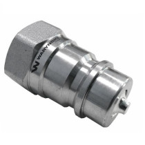 "1/2"" male hydraulic hose quick connector ISO 7241-A"