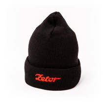 Black Knitted Hat ZETOR