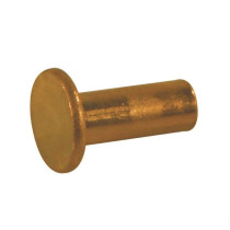 Copper rivet 6x12mm DIN7338