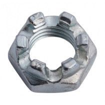 Crown nut M20x1,5 H-13mm 17H DIN937
