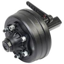 Axel w. brakes #60 L350 6xM18x1,5 ADR