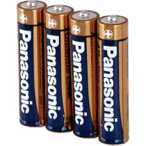 Battery PANASONIC AAA 4 pcs. LR03APB