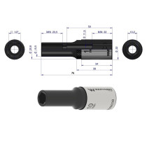 10mm long socket 1/2 L-72