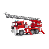 MAN Fire engine with selwing ladder, water pump Bruder 1:16