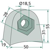 Blade holder 63-RM-902