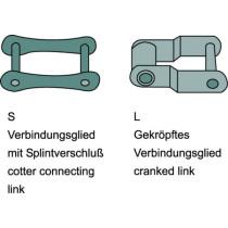 Chain half-link S45 41,4x38,1