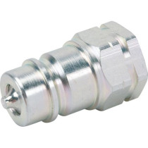 "1/2"" male hydraulic hose quick connector"