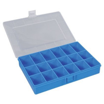 Assorted box 170x250x46mm blue