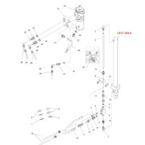 Hydraulisylinteri 1317-3014