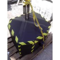 Etu- takapaino nostolaittelle 770kg Kat 2