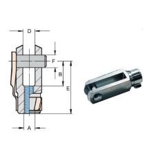 Haarukka M8 L-32mm DIN 71751