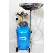 Jäteöljyn poistoyksikkö paineilma 80L GEKO