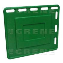 Ajolevy 92x80cm, vihreä