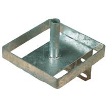 Nuolukiviteline 20,5x 20,5 x 23,5cm metalli