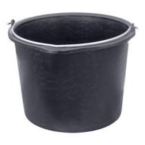 Ämpäri, muovia, musta, 20L Ø37cm H27cm